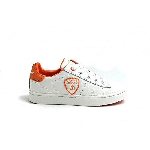 lamborghini-en-cuir-baskets-pour-enfant-chaussures-blanc-blanc-35-eu-junior