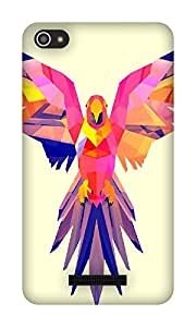 The Racoon Grip Pastel Parrot hard plastic printed back case / cover for Micromax Canvas Hue 2 A316
