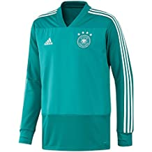 Adidas Selección Alemana de Fútbol Camiseta de Entrenamiento, Hombre, Verde (Eqtver/Blanco