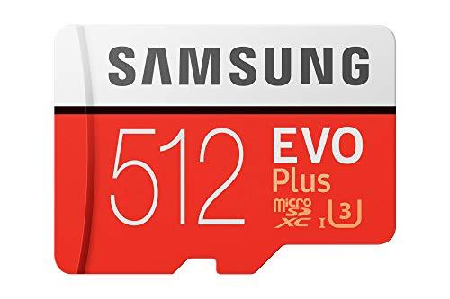 Samsung Evo Plus 512GB Class 10 MicroSDXC Memory Card with Adapter (MB-MC512GA/IN)
