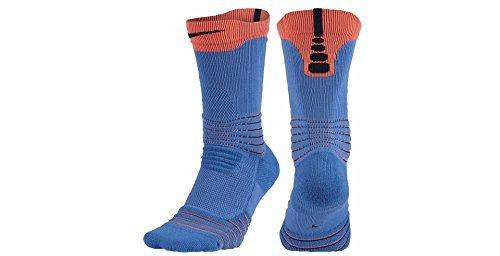 Nike Basketball Elite Versatility Dri Fit Good-Day Blue X-Large Men's 12-15 Socks (Nike Basketball-socken Grün)