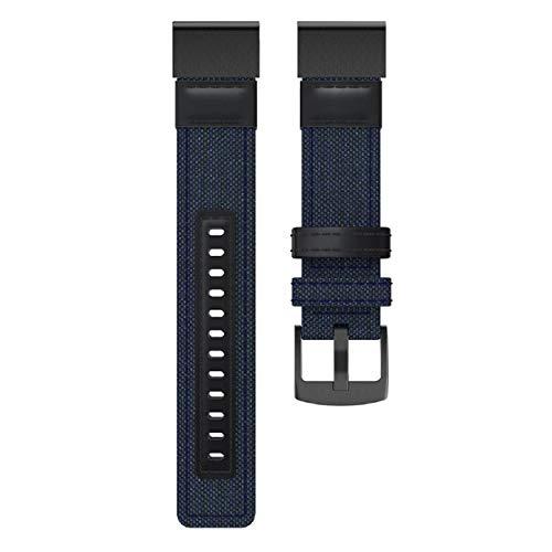 GreatFunSmart Watch Ersatz-Handgelenkband, gewebtes Nylon-Anti-Schweißband, verstellbares Ersatz-Sportzubehör für Fenix   5/5 Plus/Forerunner 935 - Plus Frauen Nike Watch
