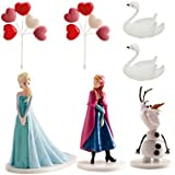 Décorations gâteau frozen - la reine des neiges