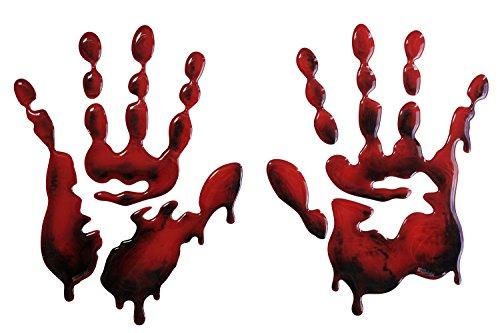 0110 Bloodhands - universell für Motorrad Tanks, Autos, Tablet, Kühlschrank, Türen, etc. (Motorrad Tank Pads)