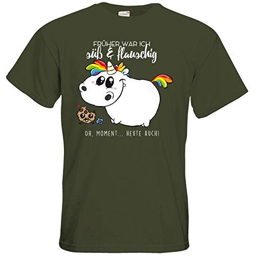 getshirts - Pummeleinhorn - T-Shirt - Baby Pummel Khaki