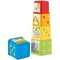 Mattel Fisher-Price CDC52 - Bunte Stapelwürfel