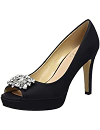 YMFIE Moda eleganza dita medio tacchi tacchi alti ladies comfort estivo sandali scarpe da spiaggia,39 UE,c