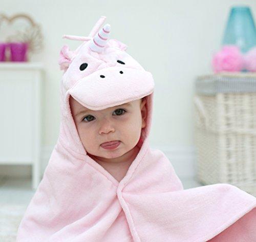 Einhorn Baby Handtuch pink