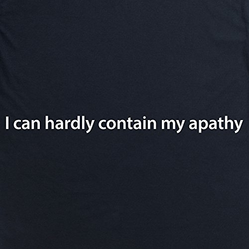 Apathy Contained T-shirt, Uomo Nero