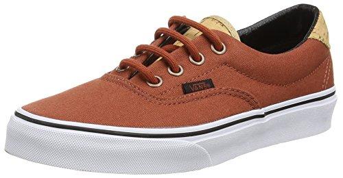 Vans Era 59 - Sneaker unisex adulto, nero (cork twill - arabian spice), 34.5