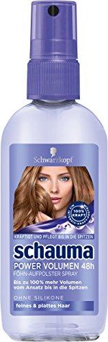 Schwarzkopf Schauma Power Volumen 48h Föhn-Aufpolster Spray, 6er Pack (6 x 100 ml)