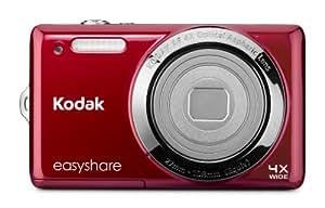 """Kodak EasyShare M522 Appareil-photo compact 14MP 1/2.3"""" CCD (dispositif à transfert de charge) Rouge - appareils photos numériques (14 MP, 1/2.3"""", CCD (dispositif à transfert de charge), 5x, HD, Rouge)"""