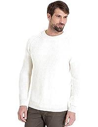 WoolOvers Pull Pêcheur côtelé - Homme - Pure Laine