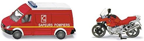 Siku - 1656F - Véhicule Miniature - Modèle À L'Échelle - Set Pompiers - Echelle 1/64 | Outlet Shop En Ligne