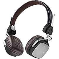 AudioMX HB-Q3 Wireless Bluetooth 4.1 On-Ear Headphones with Mic, Low Latency, HD Quality Stereo Sound
