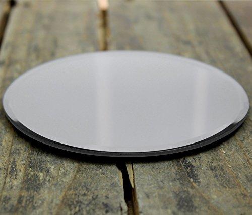 Home Fusion 12 x 12 cm Redonda Bordes Biselado Espejo