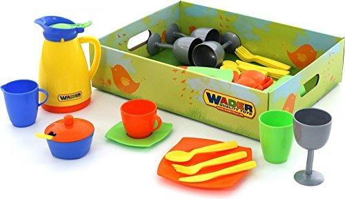 Wader Quality Toys Geschirrset, 40-tlg. im Display