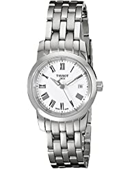 Tissot CLASSIC DREAM T0332101101300 - Reloj de mujer de cuarzo, correa de acero inoxidable color gris