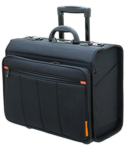 """Davidts Businesstrolley - Pilotenkoffer - Laptoptrolley 17\"""" und 10\"""" Tablet - 47x40x25cm"""