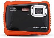 Taidda Kids Waterproof Digital Camera Camcorder, 2.0 Inch Screen Cute Lightweight Compact Dustproof Durable Un