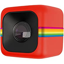 Polaroid Cube HD 1080p Lifestyle Action Video Camera (rosso)