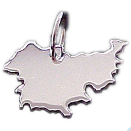 Thüringen Kettenanhänger in massiv 925 Silber