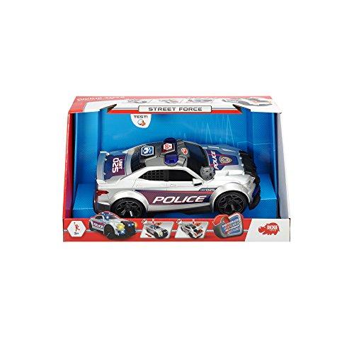 Dickie Toys 203308376 - Street Force Motorisiertes Spielzeugauto mit Licht, Sound, 33 cm
