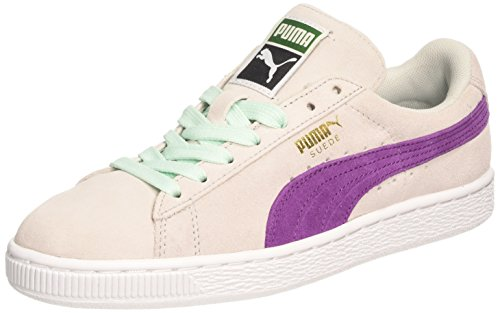 Puma - Suede Classic Wn'S, Sneakers da donna, Glacier Gray/Grape Juice, 38