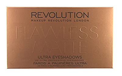 Makeup Revolution Ultra 32 Shade Eyeshadow Palette FLAWLESS MATTE by Makeup Revolution