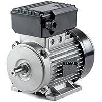 Motor monofásico HP 3KW 2,22800RPM mec80B3con pies 2pines Árbol 19mm