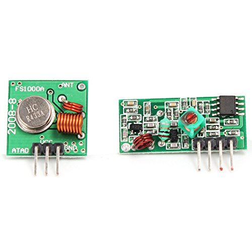 Amazon.co.uk - 433Mhz RF transmitter and receiver kit