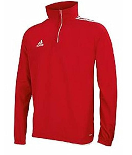 adidas Core11 Windbreaker Herren Fussball Training Top , Rot , Größe GB 36/38 (Sleeve Core Short Adidas Top)