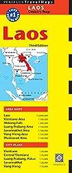 Laos Travel Map (Periplus Travel Maps)