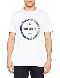 Quiksilver Classic Salina Stars Camiseta, Hombre, Azul Malibu, M