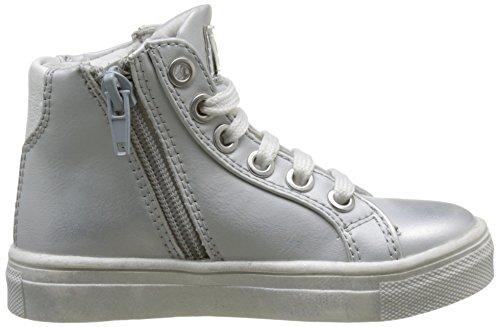 ASSO Sneaker, Baskets Hautes Fille Argent (argento)