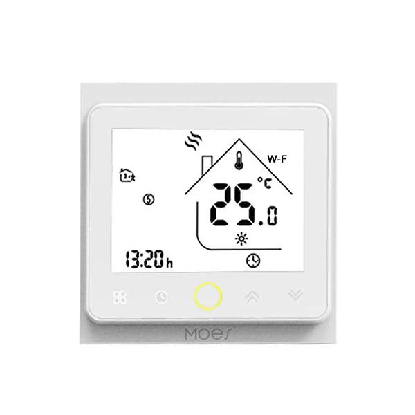 Decdeal-Termostato-WiFi-per-Caldaia-a-GasAcqua-Thermostat-Intellight-Programmabile-Supporto-AppControllo-Vocale-Compatibile-con-AlexaGoogle-Home-5A