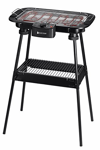BlackPear BBQ 2210 Barbecue 2200 W avec Pieds