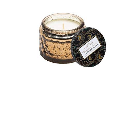 Aiyow Candlestick Plant Ätherisches Öl Aroma Romantic Smoke-Free Beruhigen Sie die Nerven Hilfe Glas Tasse Duft Rotating Candlestick @ Lime Basil and Orange Blossom -