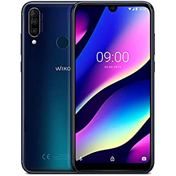 WIKO View3 Pro 128GB+6GB Smartphone , Anthracite Blue