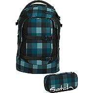 Satch Sac à dos d'écolier Set de 2pièces Pack Blue octets 9h4Blue octets