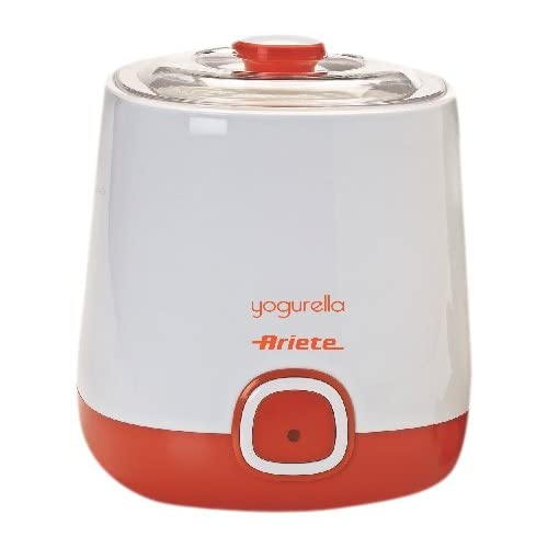 41EWUzGj05L. SS500  - Ariete 621 Maker Container and one Liter Capacity for Yoghurt Yogurella-621, 20 W, White