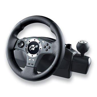 Logitech Driving Force Pro Lenkrad PS2 + Pedale