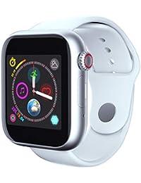 Saingace(TM) Fitness Armband, Bluetooth Smartwatch Fitness Tracker Aktivitäts Uhr , Damen Herren Sport Armbanduhr SIM-Karte und Kamera Sportuhr für Android iOS ,8-Megapixel-Kamera