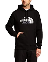 The North Face T0AHJY, Felpa con Cappuccio Uomo, TNF Nero, L