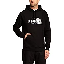 The North Face M Drew Peak - Sudaderas con capucha para hombre, color negro, talla XL