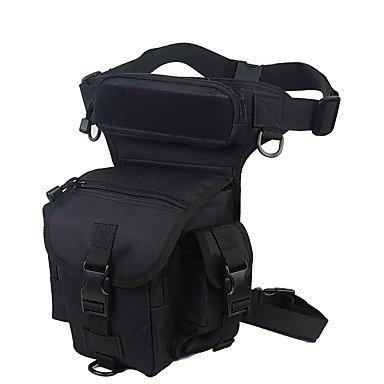 10 L Hüfttaschen Camping & Wandern Reisen tragbar Atmungsaktiv Feuchtigkeitsundurchlässig Black