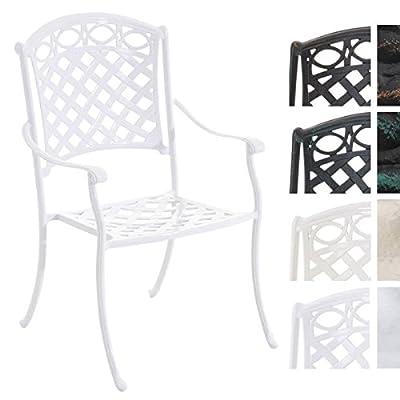 CLP Gartenstuhl ISHVARA im Jugendstil/Antiker Stuhl aus Aluminium/In verschiedenen Farben erhältlich von CLP auf Gartenmöbel von Du und Dein Garten