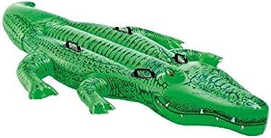 Intex Enfants Large Gonflable Ride on Alligator avec Quatre Poignées # 58562p