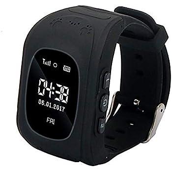 Niños Reloj Inteligente GPS Rastreador Localizador Anti-Lost Seguridad Niños Reloj de Pulsera SOS Llamadas