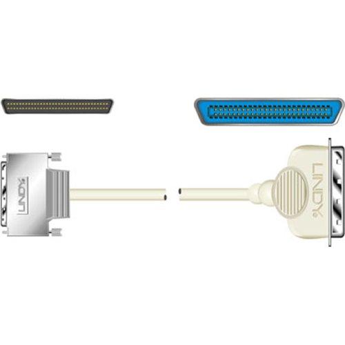 Lindy SCSI-III-Kabel mit Rändelschrauben (681/2DM (Schraube)/50cm), 0,3m